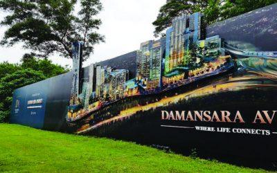 Damansara Avenue Hoarding Board