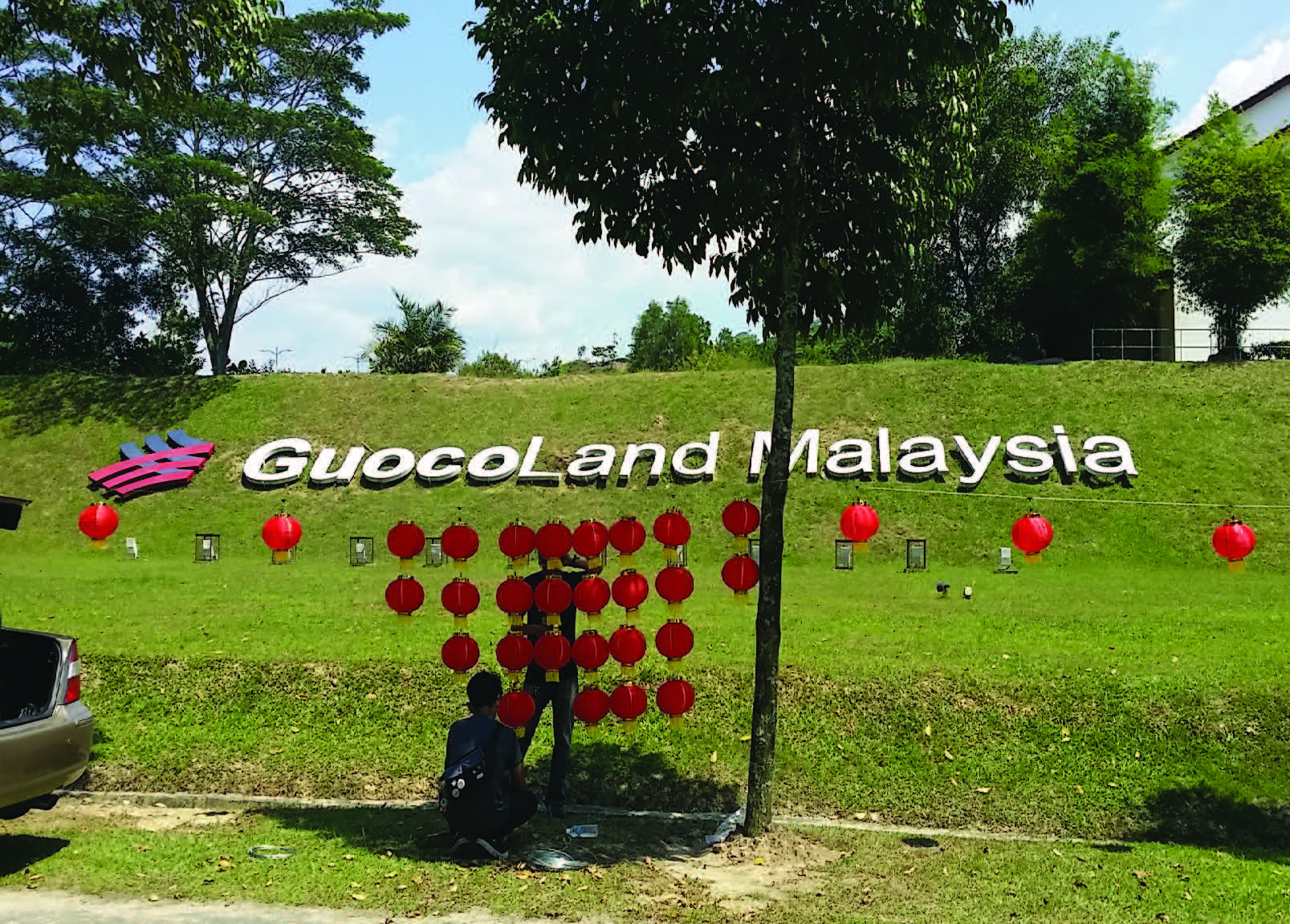 Guocoland Malaysia Hill Sign