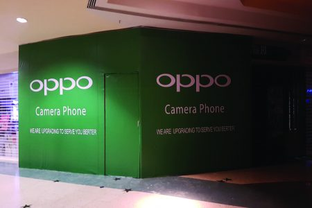 OPPO Indoor Sticker