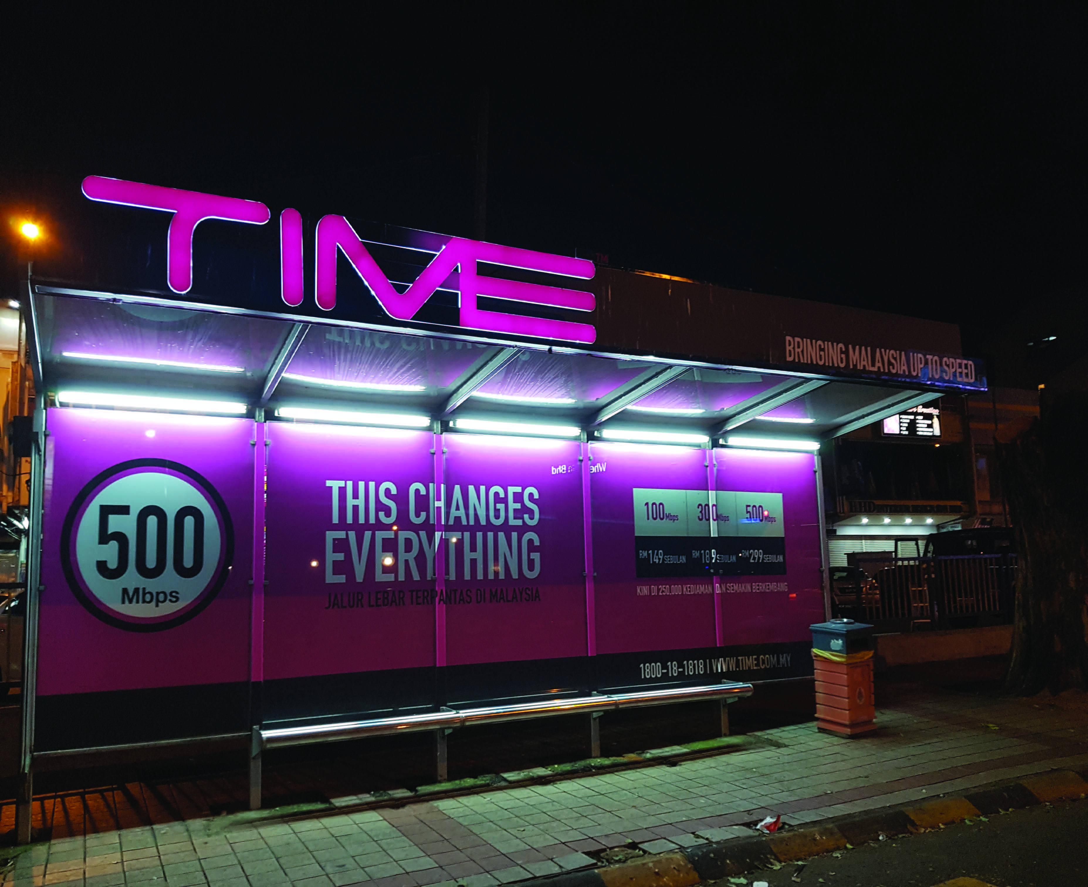 TIME - Large Format Sticker