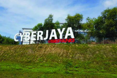 Cyberjaya Hill Sign