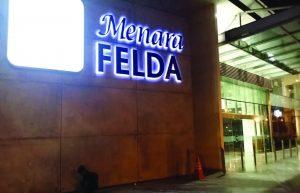 Menara Felda Signage